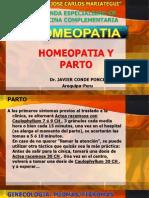 Homeopatia y Parto