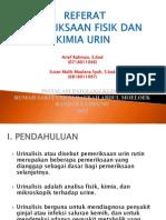 pemeriksaan urin