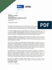 Este es el documento que envió el Ministro Pinzón: