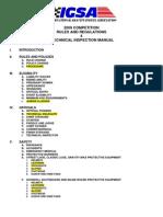 2009 IGSA Rulebook