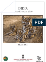 Tiger Reserves Map 2011