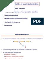 Tema 10 - Regulacion Enzimatica Farmacia