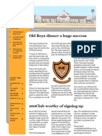 Potch Old Boys December 2012 Newsletter