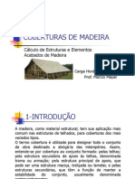 COBERTURAS DE MADEIRA - Prof. Márcio Mayer