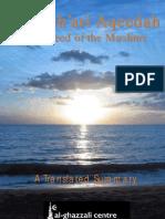 Ash'ari Aqaida - Tr Al Ghazali Center for Islamic Sciences