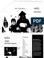 Full 2000 NADS Annual Report with History of Down Syndrome Organization