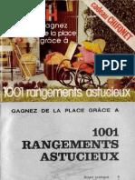 1001 Rangements Astucieux Marabout