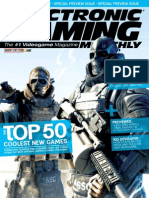 Electronic Gaming Monthly Magazine