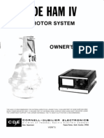 CDE Ham IV Rotor System ~ Owner's Manual, Cornell-Dubilier Electronics, 09-2980.