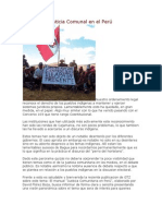 Manual de Justicia Comunal en el Perú