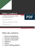 Didier Lombard - Le Village Numérique Mondial