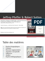 Jeffrey Pfeffer, Robert Sutton - Faits et Foutaises dans le Management