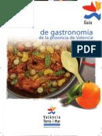 Guia Gastronomica de Las Provincias de Valencia
