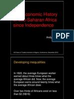 Economic History 1960 to 2012