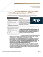 Cisco IT Case Study Oracle on VM on UCS