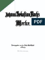Bach - L'Arte Della Fuga BWV1080 - Quartetto a Stampa