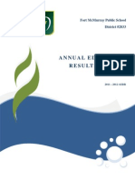 Annual Education Results Report 2011 - 2012