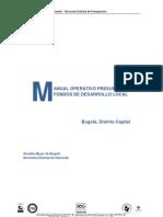 Manual Presupuesto Fdl