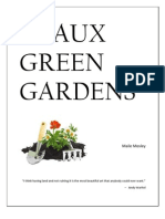Geaux Green Gardens Environmental Management Plan