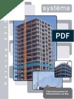 Fallschutzsysteme für Höhenarbeiten am Bau * Katalog 2012
