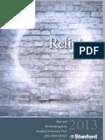 2013 Religion Catalog