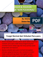 Konsep Dasar & Asuhan Keperawatan Kor Pulmonal