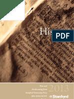 2013 History Catalog