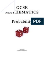 Probability for GCSE
