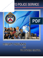 2011 TPS Community Consultation and Volunteer Manual