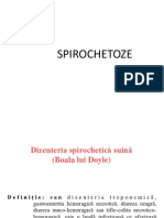 SPIROCHETOZE