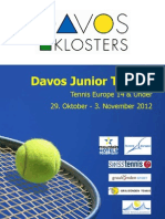 Broschüre Juniortrophy 12