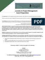 SJC - Certified Associate in Project Management Certification Preparation Grant