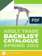 Chronicle Books UK Adult Backlist Spring 2013