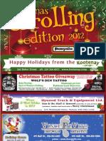 Carolling Edition Dec 4, 2012