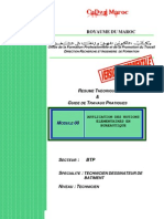 M08-Applica notions élément bureautique-BTP-TDB