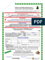 Circulares Navidad Sant Joan Dalacant