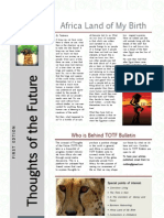 TOTF Bulletin - First Edition 12.04.12