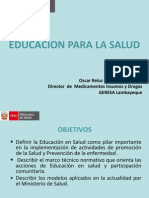 EDUCACION EN SALUD