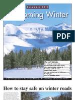 Welcoming Winter 2012
