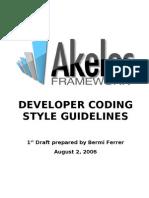 Akelos Framework Developer Coding Style Guide