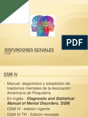 disfunción sexual de la asociación psiquiátrica estadounidense