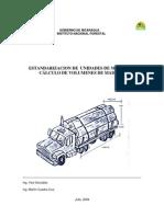 Estandarizacion de Unidades de Medida y Calculos de Volumenes de Madera
