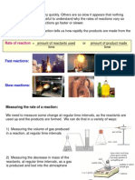 CH2 Rate of Reaction