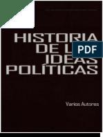 Historia de Las Ideas Politicas