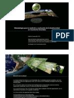 Metodologia Para La Medicion y Evaluacion de La Biodiversidad en Inventarios Forestales