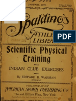 Scientific Physical Training - Indian Clubs - Warman