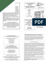 St Felix RC Parish Newsletter - 4th Sunday 2008