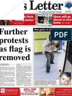 Belfast News Letter front page 5 Dec