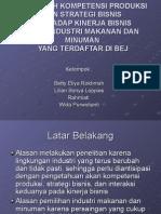 Presentasi Proposal Penelitian Manajemen Operasi 1