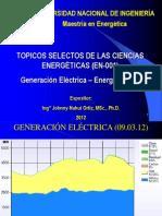 Generación con Energia Eolica
